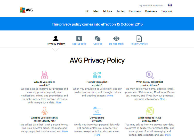 Now Onwards AVG Can Sell Your Browsing Data To Advertisers
