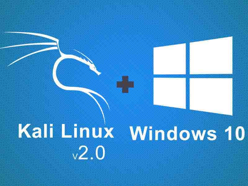 How To Dual Boot Kali Linux v2017.2 With Windows 10