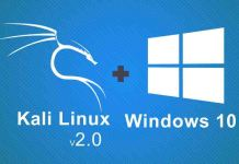 dual boot kali linux with windows 10