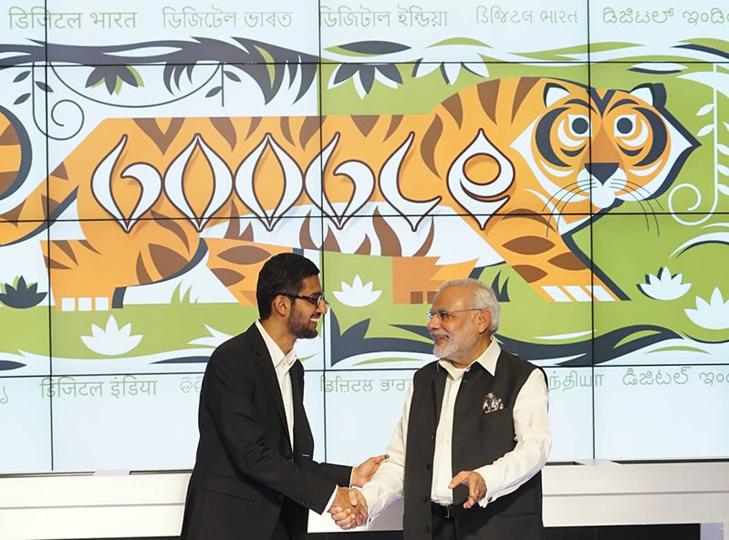 Google Announced A New Project To Provide High-Speed Public Wi-Fi In 400 Train Stations Across India