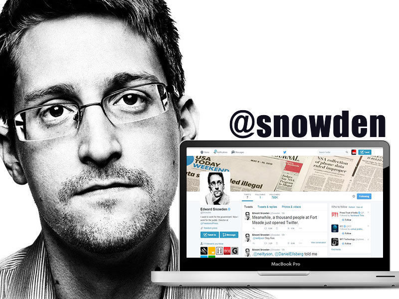 Edward Snowden Joined Twitter, Within Hours Got More Followers Than NSA