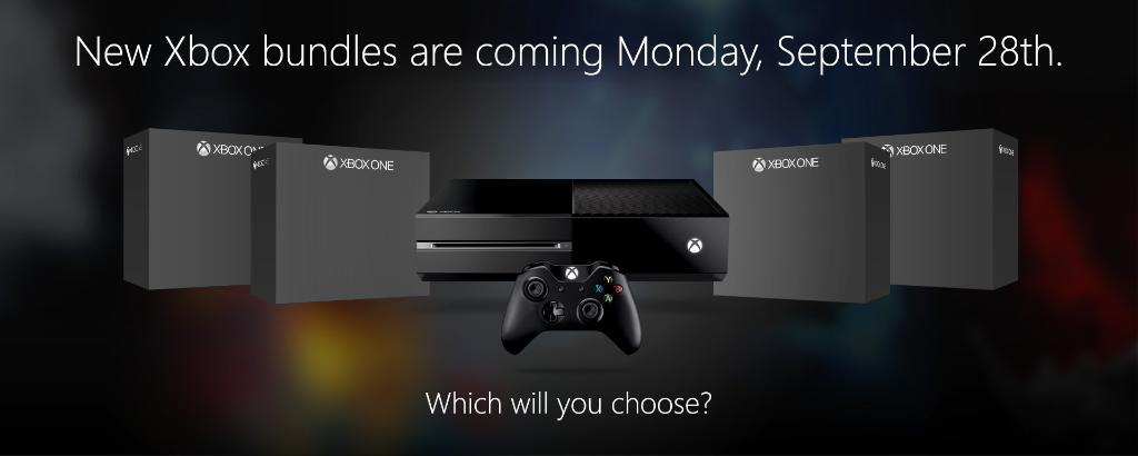 Microsoft Will Unveils A New Xbox One Bundle Everyday Next Week To Celebrate One Year Anniversary