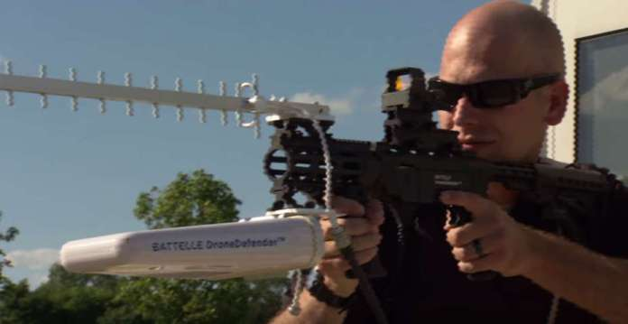 Anti-drone weapon DroneDefender