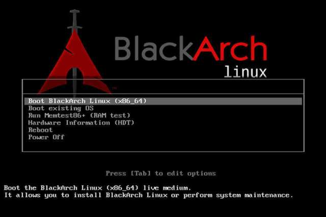 Favourite Operating Systems Of Hackers - BlackArch Linux