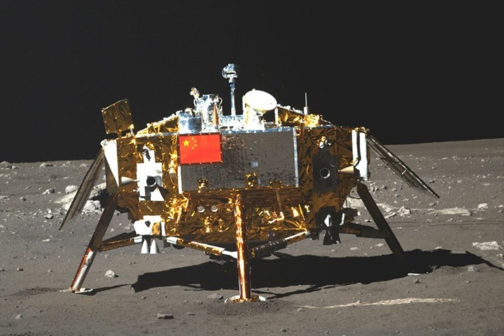 Robotic Telescope On The Moon