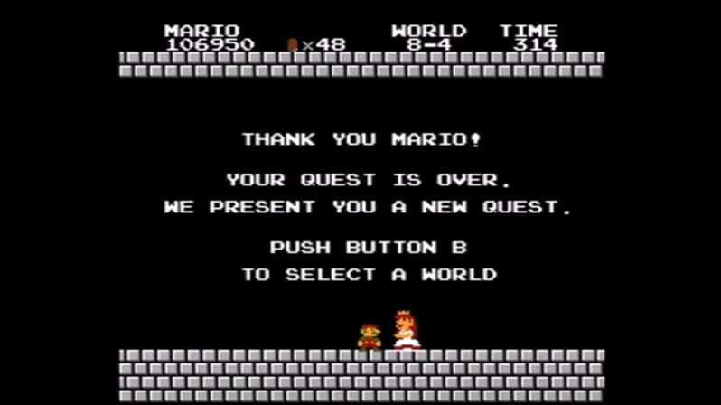 After 6,607 Failed Attempts, A Gamer Made Super Mario To Save The Princess In Less Than 5 Minutes