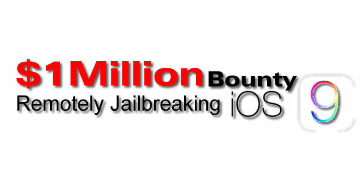 Hackers Claim $1 Million Bounty For Remotely Jailbreaking iOS 9