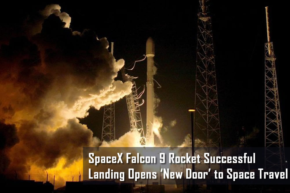 Elon Musk's SpaceX Falcon 9 Rocket Successful Landing Opens 'New Door' to Space Travel