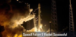 Elon Musk's SpaceX Falcon 9 Rocket