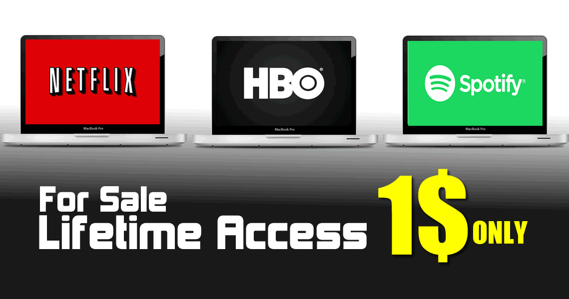 Hackers Are Selling Lifetime Access To Netflix, HBO, Spotify And More For Less Than $1