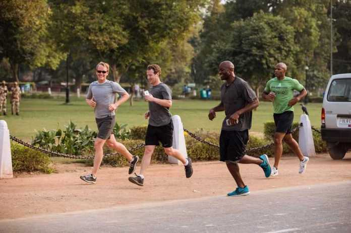 Mark Zuckerberg's Physical Challenge for 2016 is to Run 365 Miles