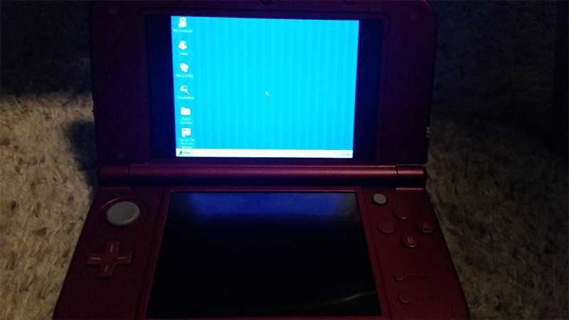 Now Nintendo 3DS XL can Run Windows 95