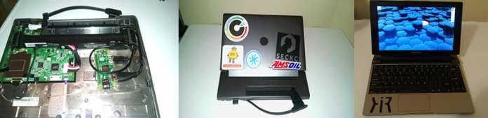 Turn Motorola Lapdock Into A Laptop With Raspberry Pi Zero