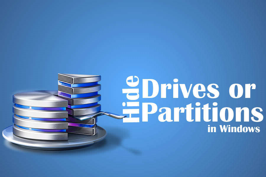 4 Different Methods to Hide Drives or Partitions in Windows 7/8/10