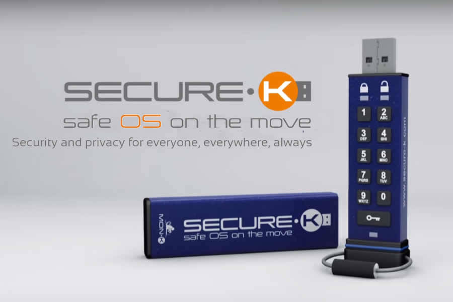 Secure-K, a portable Linux-based encrypted OS to protect your privacy and data