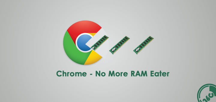 Finally Chrome will consume less RAM from its December update