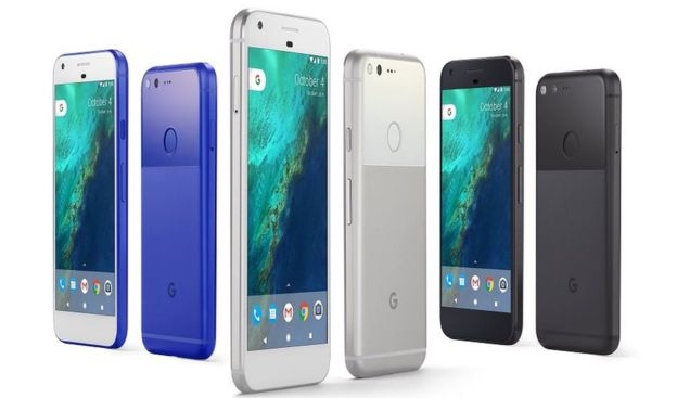 Google launches Pixel smartphones
