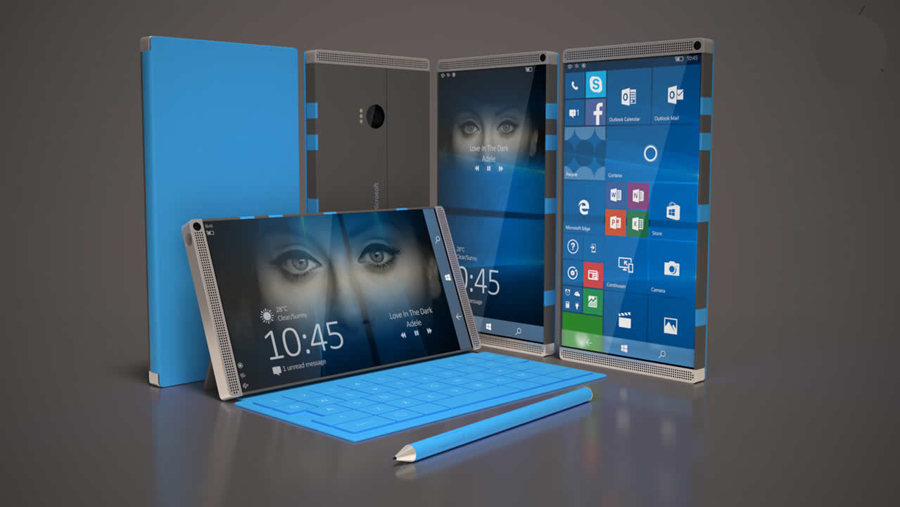 Rumor : Microsoft working on a completely new smartphone — Surface Phone