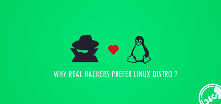 Do you know why real hackers prefer Linux distro over other OS