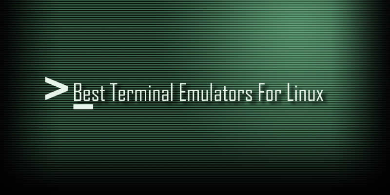 5 Best Open Source Terminal Emulators For Linux