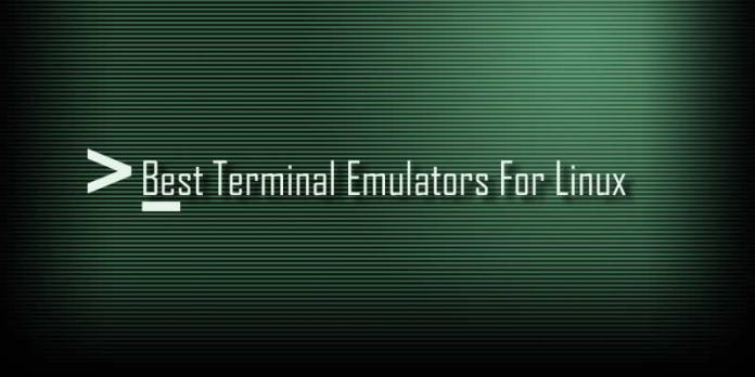 Best Open Source Terminal Emulators For Linux