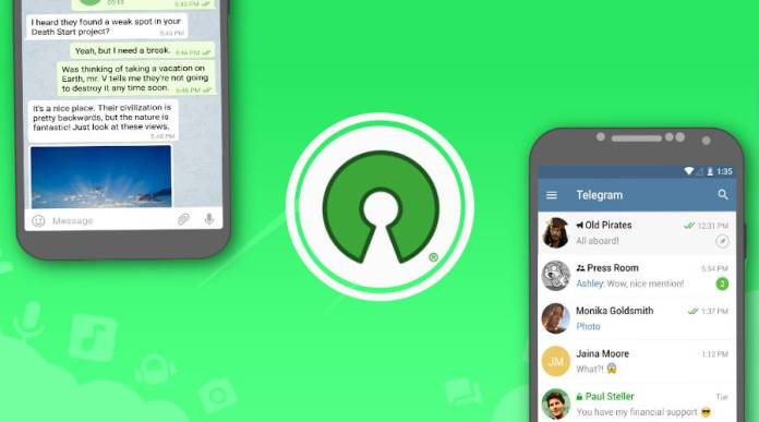 Open Source Encrypted Messaging Android Apps