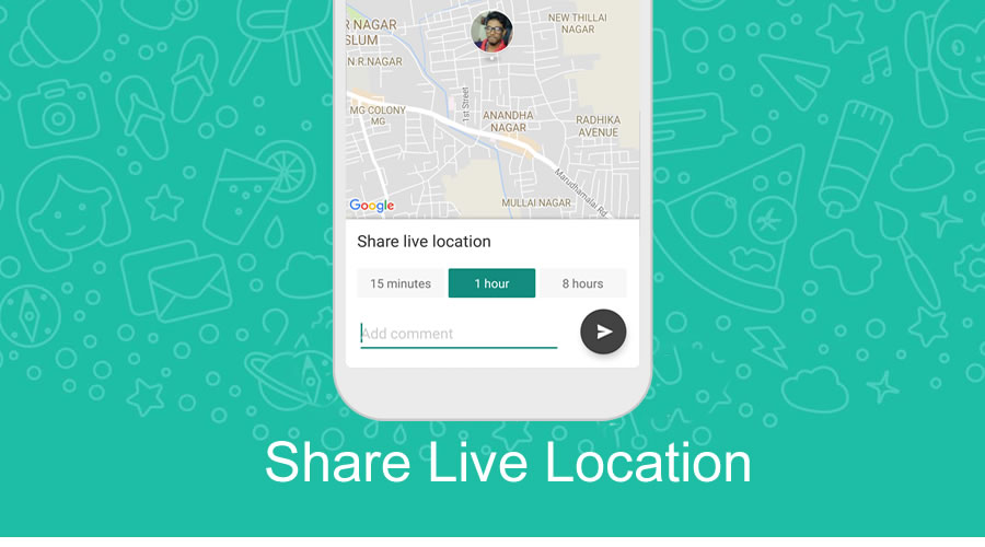 WhatsApp Message Delete & Share LIVE Location