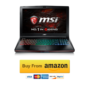 MSI VR Ready GE62VR Apache Pro Review
