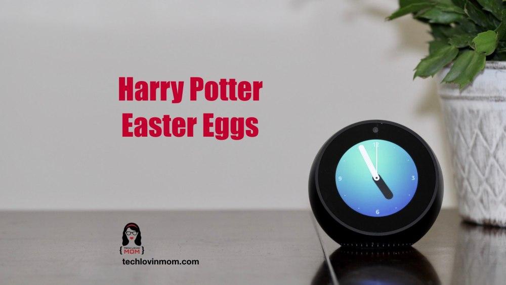 Harry Potter Amazon Alexa Easter Eggs