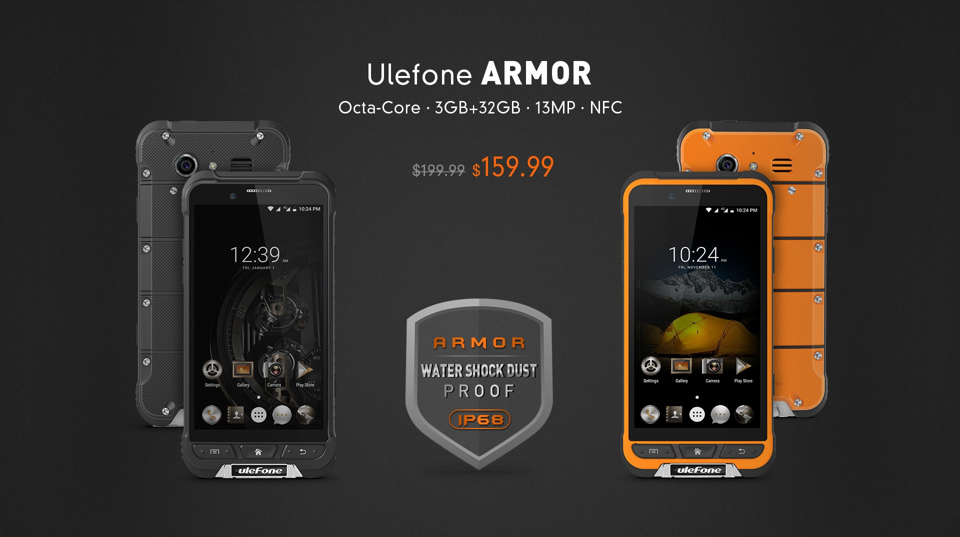Ulefone Armor substratum theme