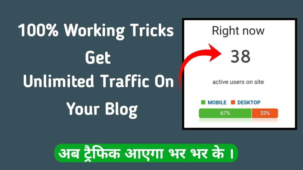 Blog Par Unlimited Traffic Kaise Laye