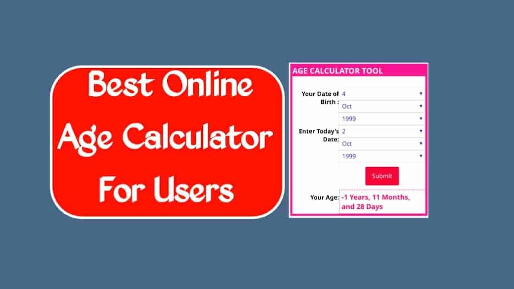 Online Age Calculator || Age Calculator in Online