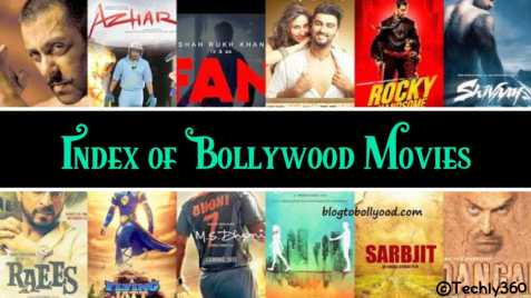 Index of Bollywood Movies