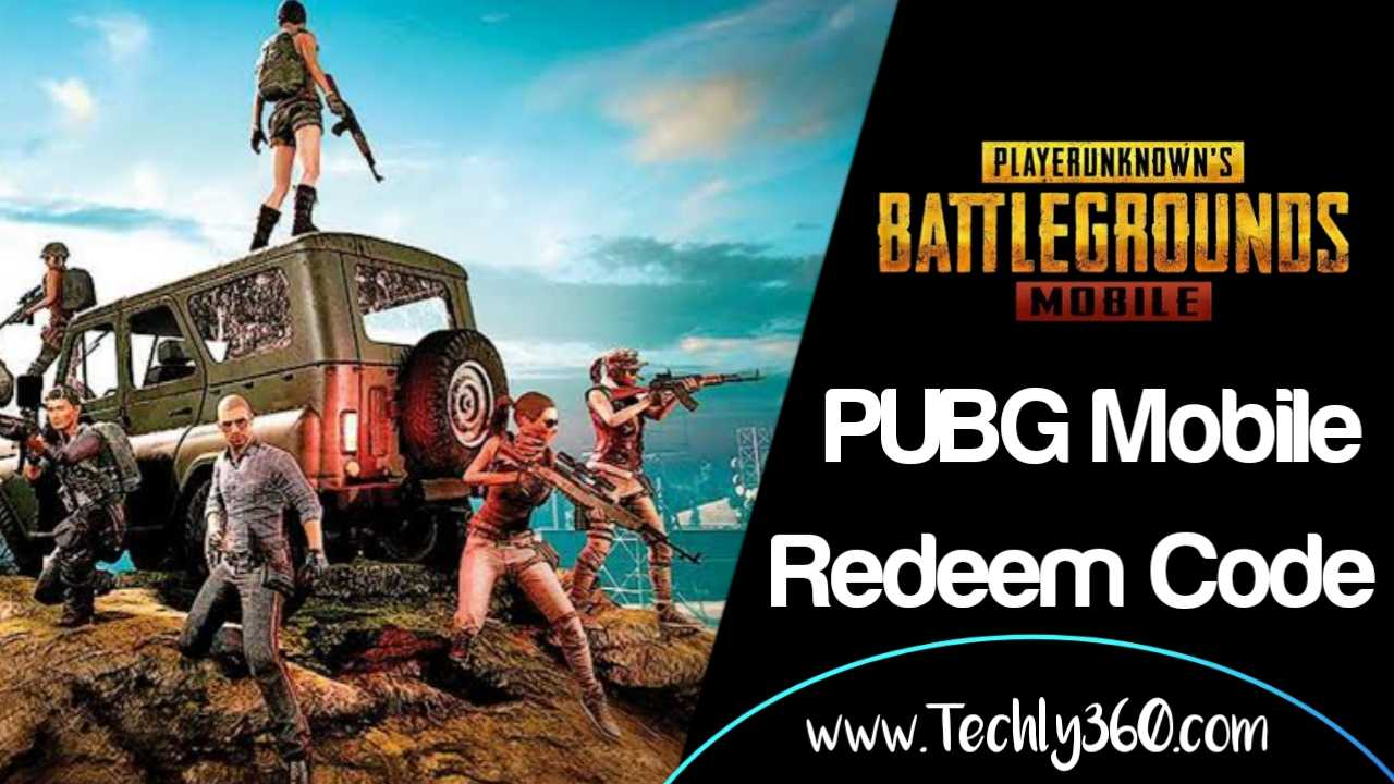 PUBG Mobile Redeem Code Today