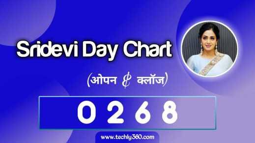 Sridevi Day Chart, Sridevi Jodi Chart, श्रीदेवी डे चार्ट, श्रीदेवी जोड़ी चार्ट