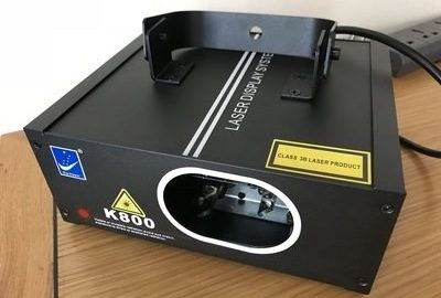 Review: HiBeam K800 Stage Lighting Laser