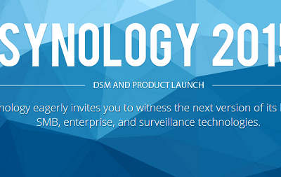 SYNOLOGY HOLDING DSM AND PRODUCT EVENT IN SEPTEMBER