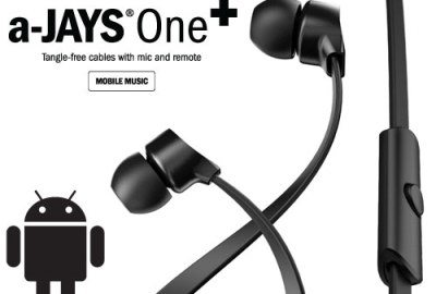 REVIEW: A-JAYS ONE+ EARPHONES
