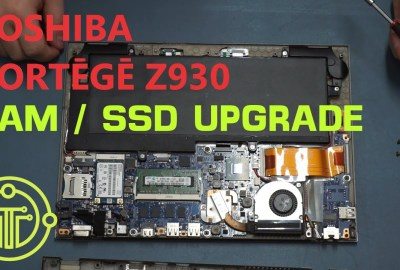 Upgrade the Toshiba Portege Z930 Ultrabook