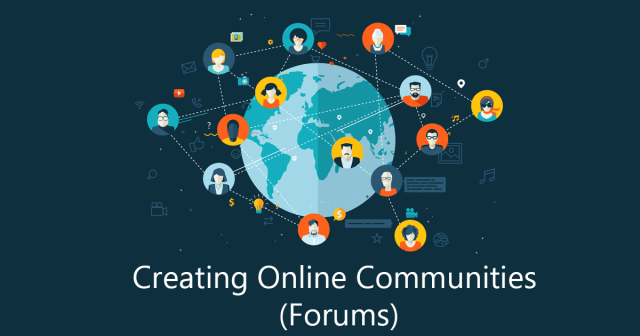 creating online forums
