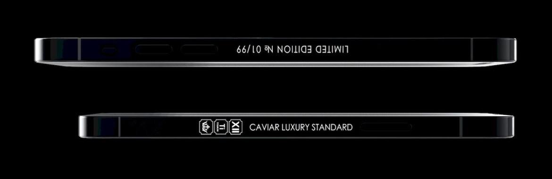 iPhone 12 Pro Stealth Caviar