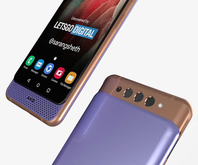 Samsung Galaxy A82 patent dual slide