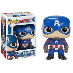 captain america pop figure