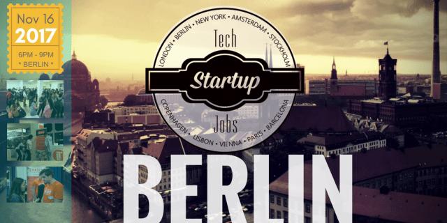 Upcoming Events – Tech Job Fair Berlin Autumn 2017 – TechMeetups
