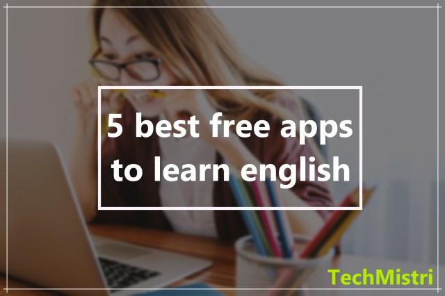 english sikhne k liye apps