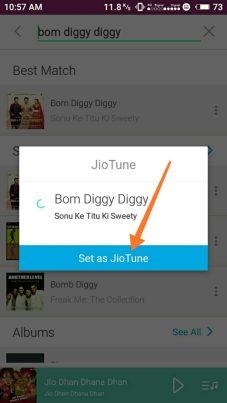 Remove Jio Caller Tune by Misscall:-