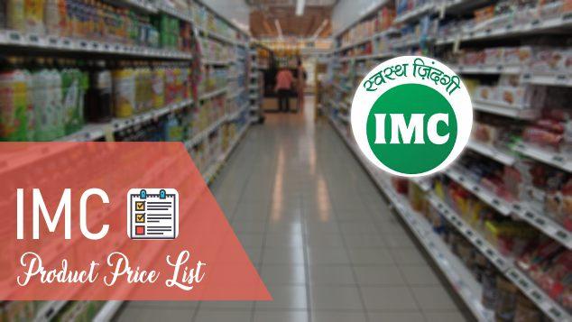 IMC Product Price List