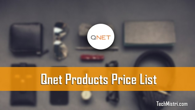 Qnet Products Price List