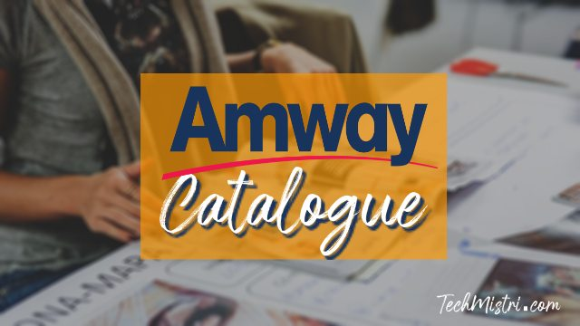 amway india catalogue