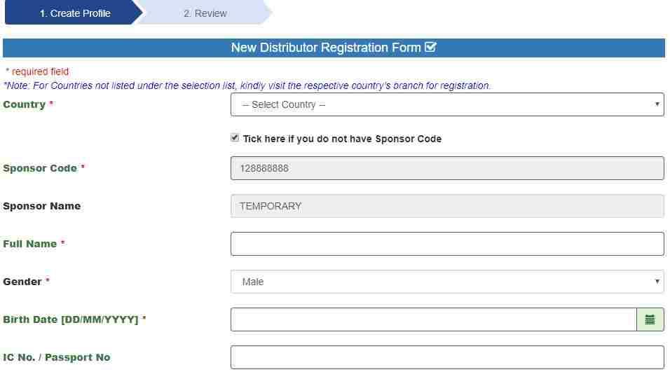 DXN-E-WORLD-NEW-REGISTRATION